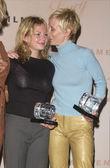 Michelle Williama and Anne Heche — Stock Photo