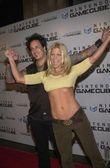 Nikki Sixx and Donna D'Errico — Stock Photo