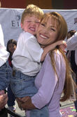 Jane Seymour and Son — Stock Photo
