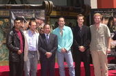 "Cast di ""windtalkers"" — Foto Stock"