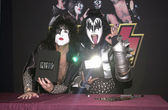 Paul Stanley and Gene Simmons — Stock Photo