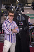 Ewan McGregor and Darth Vader — Stock Photo