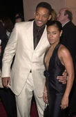 Will Smith and wife Jada Pinkett — Stock Photo