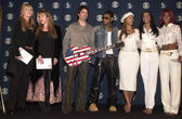Laurie Blank, Stevie Nicks, Pat Monahan, Usher and Destiny's Child — Stock Photo