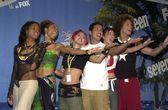 Cast of American Idol — Stock Photo