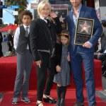 ������, ������: Hugh Jackman and family