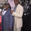 ������, ������: Samuel L Jackson with wife LaTanya and Darth Vader