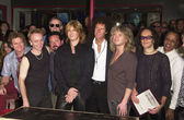 Def Leppard Rock Walk Induction — Stock Photo