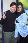 Mike Myers and wife Robin Ruzan — Stock Photo
