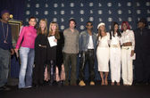 Ja Rule, Nelly Furtado, Laurie Blank, Stevie Nicks, Pat Monahan, Usher, Destiny's Child and Jimmy Jam — Stock Photo