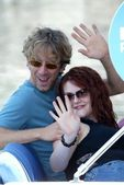 Andy and Sara Rue — Stock Photo