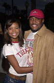 Gabrielle Union and Hubby Chris — Stock Photo