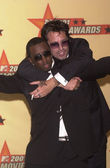 Sean Puffy Combs and Tommy Lee — Stock Photo