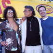 Slash, Robert Evans and Jeff Danna - Stock Photo