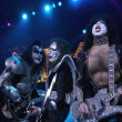 Gene Simmons, Ace Frehley and Paul Stanley — Zdjęcie stockowe