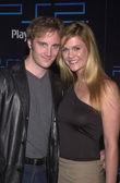 Jay Mohr and wife Nicole Chamberlain — Stock Photo