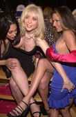 Dee, Nina Hartley and Alexandra Silk — Stock Photo