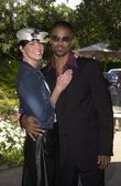 Ashley scott en shemar moore — Stockfoto