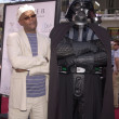 Stock Photo: Samuel L. Jackson and Darth Vader