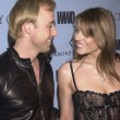 Elizabeth Hurley and David Furnish — Stok fotoğraf