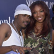 Stock Photo: BRANDY and RAY J
