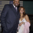 Chi McBride and wife — Stock Photo