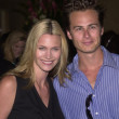 Natasha Henstridge and husband Liam Waite — Stock Photo