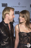 Elizabeth Hurley and David Furnish — Стоковое фото