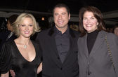 Teri Polo, John Travolta, Sherri Lansing — Stock Photo