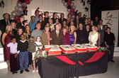 The Whole Cast at the Young & The Restless 7000th Episode bash in Hollywood — Foto Stock