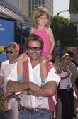 Harry Hamlin and daughter Delilah Belle — 图库照片