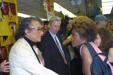 Robert Evans and Yolanda Ross