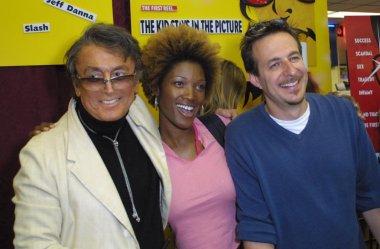 Robert Evans, Yolanda Ross and Jeff Danna