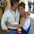 Eric Roberts and wife Eliza - Stockfoto