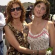 Susan Sarandon and daughter Eva - Stok fotoğraf