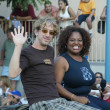 Andy and Sherri Shepherd - Stock Photo