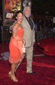 James Coburn and Paula Murad — Stock Photo