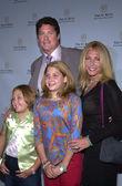 David hasselhoff och familj — Stockfoto