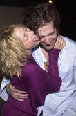 Jennifer Blanc and Richard Gunn — Stock Photo