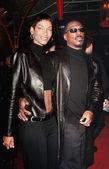 Eddie murphy y esposa nicole — Foto de Stock