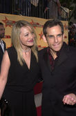 Ben Stiller and Christine Taylor — Stock Photo