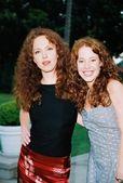 Amy yasbeck e amy davidson — Fotografia Stock