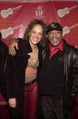 Quincy Jones and Martina — Stock Photo