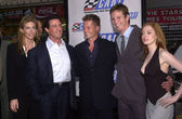 Sly Stallone, Jennifer Flavin, Til Schweiger, Kip Pardue and Rose McGowan — Stock Photo