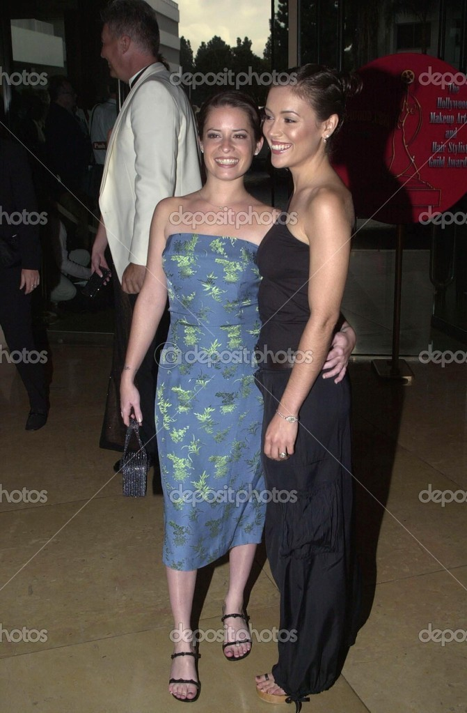 Holly Marie Combs and Alyssa Milano – Stock Editorial ...
