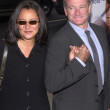 Robin Williams and wife Marsha — ストック写真 #17953363