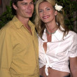 Natasha Henstridge and Liam Waite - Stock Photo