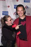 史蒂夫 · 瓦伦丁和妻子斜里情人节 — 图库照片
