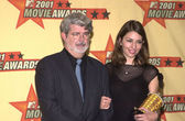 George Lucas and Sofia Coppola — Stock Photo