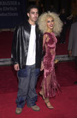 Christina Aguilera and Date — Stock Photo